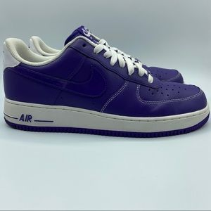 Nike Air Force 1 Low Court Purple Mens Size 10.5